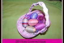Holiday: Easter / Hippity, hoppity, Easter themed board.