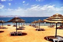 Dead Sea, Jordan / Swam in the Dead Sea