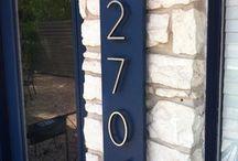 Modern Numbers Display
