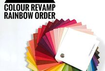 Stampin Up Rainbow Order