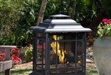 Pagoda fire pit