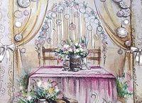 свадебные эскизы