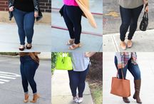 FTF + The Skinny Jeans / Plus Size Denim and Jeans from Fashion To Figure