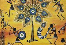 tribal warli art