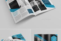 Graphic brochures