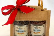 Smither Gifts / We didn't start making Salsa to make money.  Since the beginning, we have been making Salsa to share with others during the holidays.