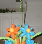palloncini fiori composizioni