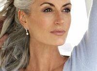 frisyre grått hår