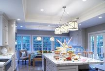 White and Grey kitchens