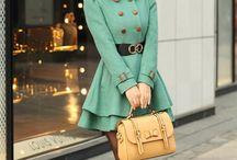 Fashion - coats de lux