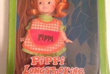 Pippi Langstrømpe dukke