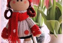 Связаные Крючком Куклы