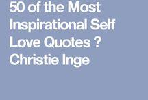 Words of wisdom-self love