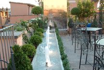 Fountains and water features / fontane e giochi d'acqua