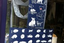 tenugui / Japanese textiles / by missknitta's studio