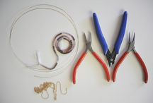 Make Jewelry: Bead, Wire, etc. / by Becca Fairchild