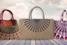 Handbags / We are providing world class handicraft product to complete your life style . We provide unique design of handbags . visit here to buy - www.handicrunch.com