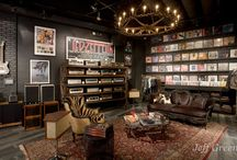 Rock N Roll Style Rooms / by Chickie