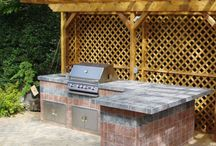BBQ Grills/Outdoor Kitchens Ideas / BBQ Grill Designs and Ideas