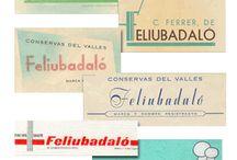 Nuestra historia, nuestros Logos / Un paseo por nuestra historia a través de los diferentes logotipos usados por la marca Feliubadaló