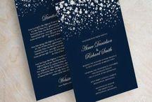Zaproszenia i dekoracje