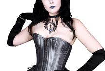 Grey & Silver  Corsets @ UnisexCorsets.com / Grey & Silver Corsets Made For Any Occasion For Men & Women. / by UnisexCorsets.com