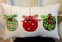 Almohadas de Navidad