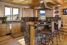 Log Cabin / by Leslie Smith