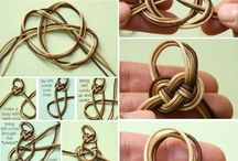 How to make knot bracelet
