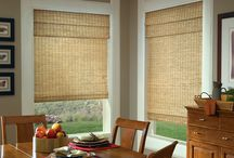 Provenance® Woven Wood Shades / Today's nature-made woven shades  Hand-woven from versatile, light-filtering reeds, grasses and woods, our Provenance® Woven Wood Shades come in five styles and transform sunlight into captivating design statements.
