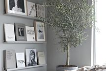 Grey Interiors / Grey Interior Design inspiration.