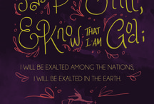 verse of the month / illustrated Bible verses for each month of the year @Leap of Faith Dance Company