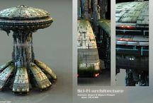 Architecture Sci Fi