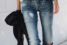 Džínsové outfity