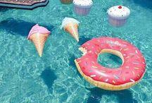 boias de piscina