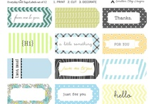 Crafts: Free Printables and Fonts / by Amy Fandrei
