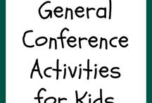 LDS Conference family ideas