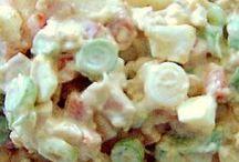 Salade en broodjes