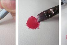 watercolor pencils techniques