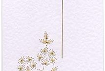 Embroidery card and pattern