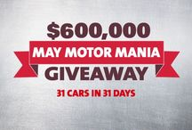 May Motor Mania 2014 / May Motor Mania - We're giving away 31 Cars in 31 Days! / by Hard Rock Rocksino Northfield Park