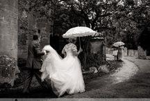 Weddings in the rain...