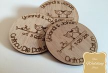 """Wedding Save The Date / A Collection of just the cutest wedding """"save the dates"""" made from earthy wood and available @ """"That Wedding Place"""""""