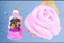 How to make slime / how to make slime with laundry detergent and glue, Borax, kids