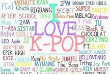 K pop / by MaraRose .