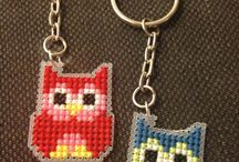 Cross stitch ~ Plastic canvas and perforated paper