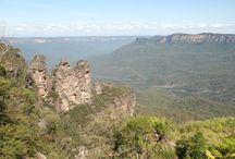 Blue Mountains / Blue Mountains National Park is just a shrot drive from Sydney and is not to be missed! Home to the 'Three Sisters' and the world's steepest scenic railway!  / by Base Backpackers