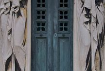 Architecture doors and windows