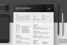 Minimalist Resume/CV Templates / A collections of minimalist resume templates