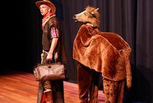 """Theatergroep Splinter """"Cowboy Harry en de geheime Goudklomp"""" / Foto's van voorstelling """"Cowboy Harry en de geheime Goudklomp"""" (2013) door Theatergroep Splinter uit Houten.  Foto's gemaakt door Danny van der Bree / Fotogevoel.nl"""